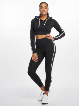 Missguided Dresy Single Stripe czarny