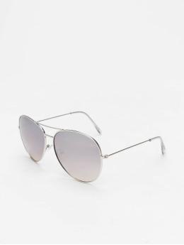 Missguided Gafas Glam Aviator plata