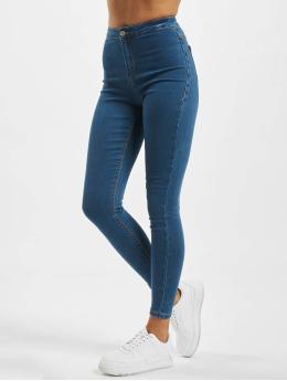 Missguided High Waist Jeans Vice blau