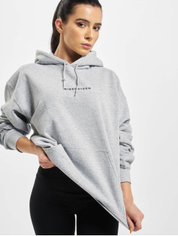 Missguided Hoodie Oversized  grey