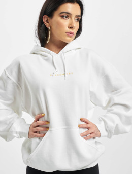 Missguided Hoodies Oversized bílý