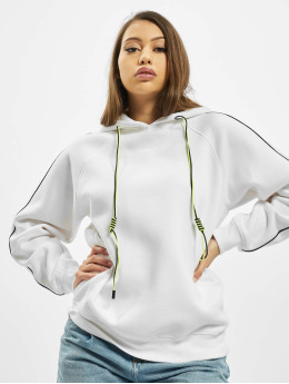 Missguided Hoody Co Ord Contrast Seam Toggle Detail weiß