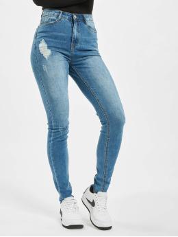 Missguided Jeans slim fit Tall Sinner Clean Distress blu