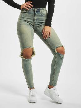 Missguided Jeans slim fit Sinner High Knee blu