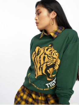 Missguided Jersey Tennessee Tigers Graphic verde
