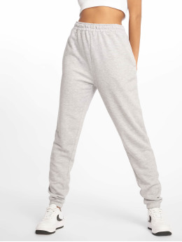 Missguided joggingbroek Tall Grey Marl Basic grijs