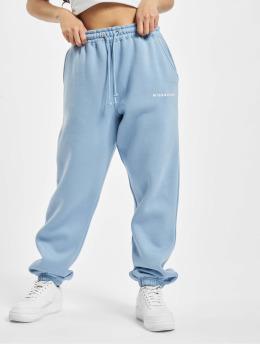 Missguided Joggingbyxor Oversized 90s blå