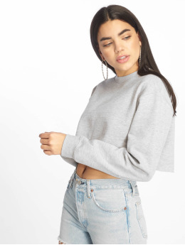 Missguided Jumper Cropped  grey