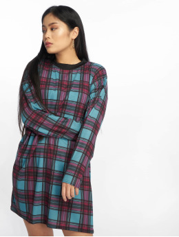 Missguided jurk Oversized Long Sleeve blauw