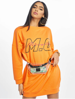 Missguided jurk Mg Signiture oranje