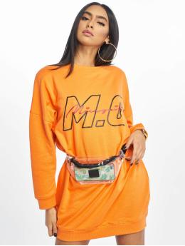 Missguided Kleid Mg Signiture orange
