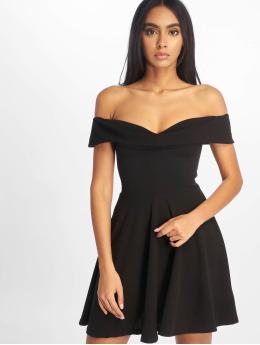 Missguided Kleid Bardot Skater schwarz