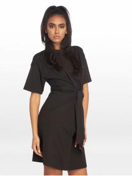 Missguided Kleid Oversized T Shirt schwarz