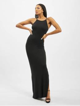 Missguided Kleid Tall Basic High Neck Maxi  schwarz