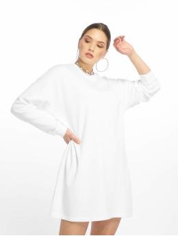 Missguided Kleid Basic Sweater weiß