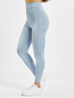 Missguided Legging Disco blau