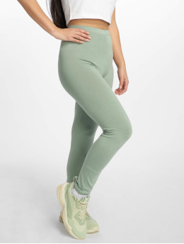 Missguided Legging/Tregging Full Length verde