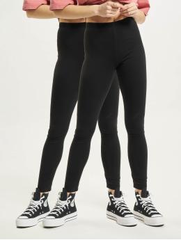 Missguided Leggings/Treggings 2 Pack  czarny
