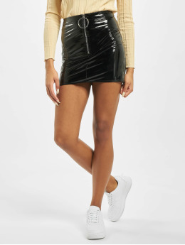 Missguided Nederdele Petite Ring Pull Vinyl  sort