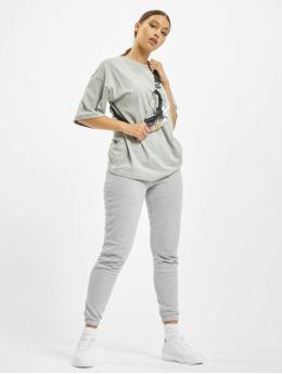 Missguided Obleky T-Shirt Jogger šedá