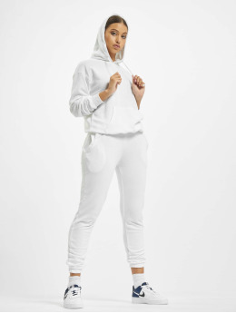 Missguided Obleky Hoody And Jogger bílý