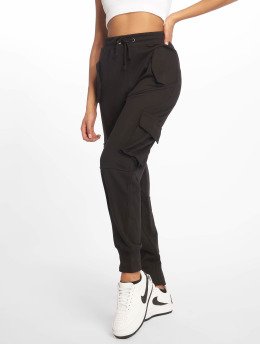 Missguided Pantalon cargo Utility Pocket noir