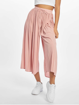 Missguided Pantalon chino Pleated rose