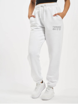 Missguided Pantalón deportivo Co-Ord NYC blanco