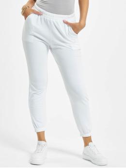 Missguided Pantalón deportivo Petite Basic blanco