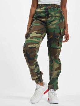 Missguided Pantalone Cargo Premium Camo Printed cachi