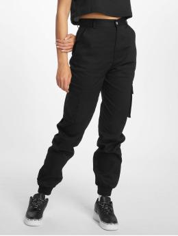 Missguided Pantalone Cargo Plain nero