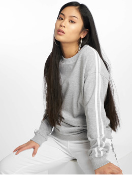 Missguided Pullover Stripe grau