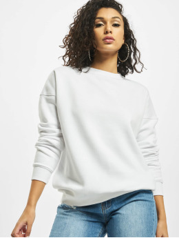 Missguided Pullover Basic Oversized  weiß