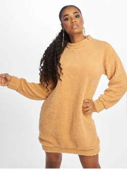 Missguided Robe Crew Neck brun