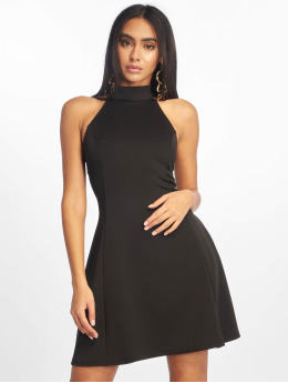 Missguided Robe High Neck Racer noir