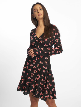 Missguided Robe Floral Frill noir