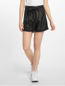 Missguided Short Faux Leather Belted noir