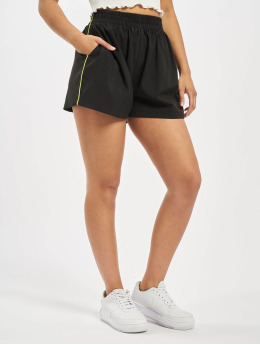 Missguided Shorts Piping Co-Ord Active svart