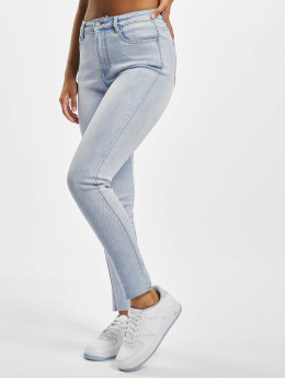 Missguided Skinny Jeans Sinner Highwaisted  niebieski