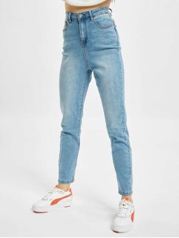Missguided Skinny Jeans Assets Side Seam Detail Sinner niebieski
