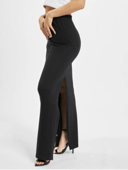 Missguided Skirt Maxi Side Split black