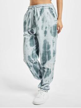 Missguided Spodnie do joggingu Petite Tie Dye fioletowy