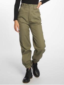 Missguided Spodnie do joggingu Slim Leg khaki