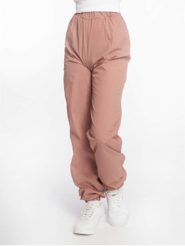 Missguided Spodnie do joggingu 80s Nylon rózowy