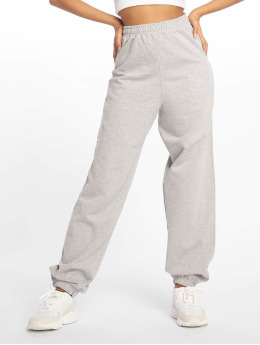 Missguided Spodnie do joggingu Tall 80s szary