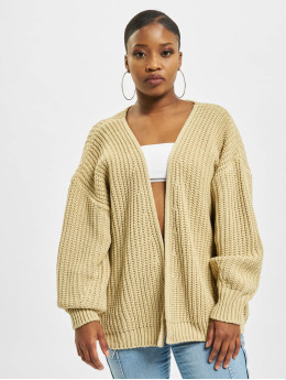 Missguided Strickjacke Batwing  beige