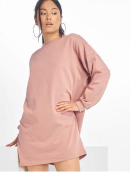Missguided Sukienki Sweater rózowy