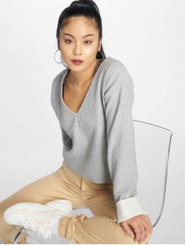 Missguided Sweat & Pull Boxy gris