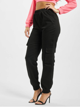 Missguided Sweat Pant Co Ord Twill black