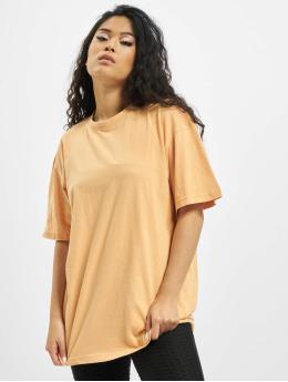 Missguided T-Shirty Washed Oversize pomaranczowy
